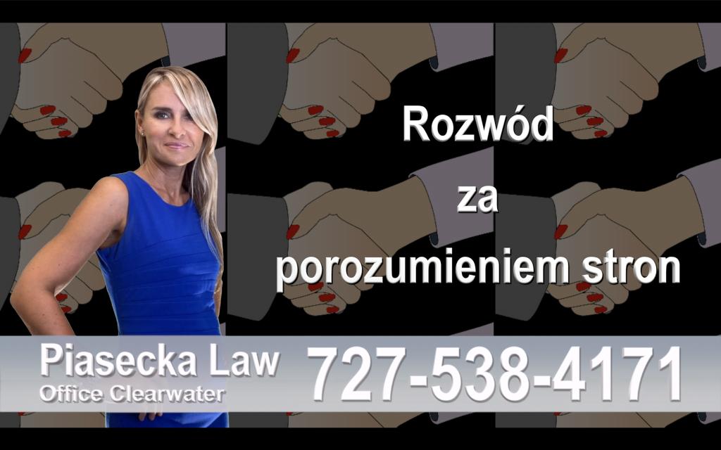 Rozwód na Florydzie - Najczęściej Zadawane Pytania i Odpowiedzi, Odpowiada Polski Adwokat - Largo, FL